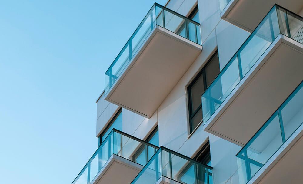 Balcons d'immeuble