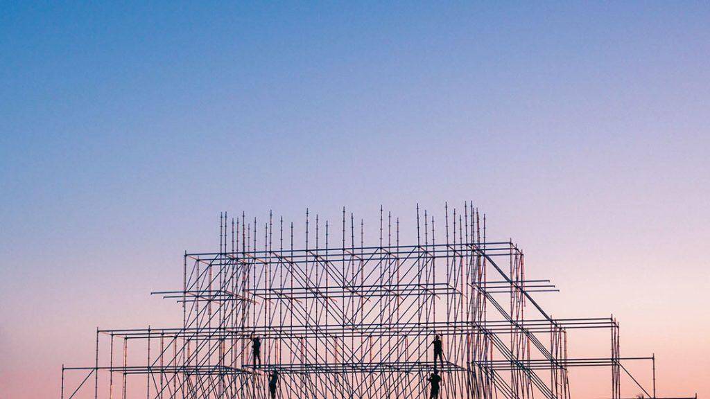 Construction et échafaudages