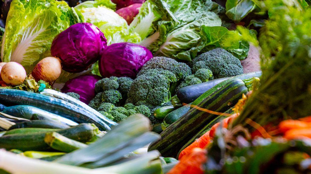 Légumes des jardins familiaux