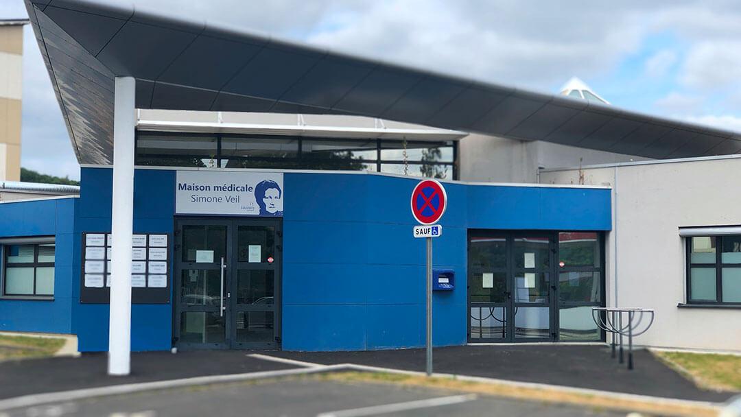 Maison médicale Simone Veil, établissement de santé.