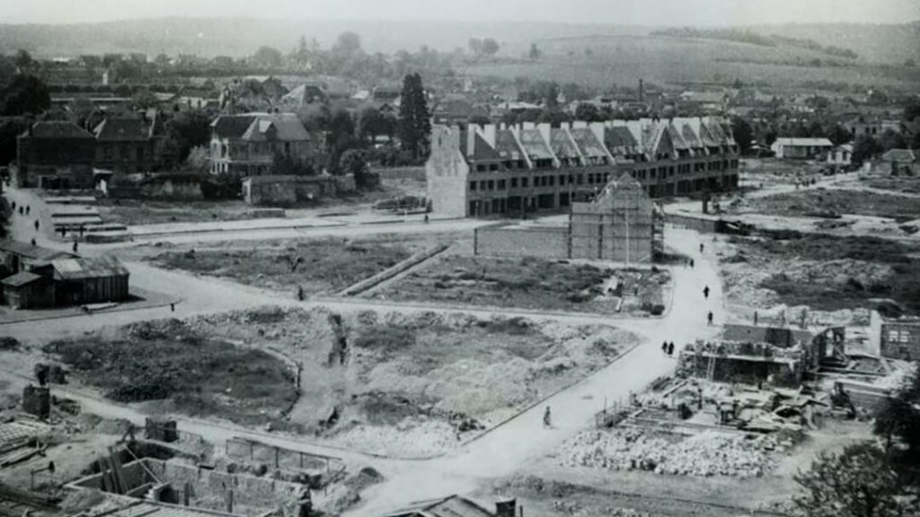 Reconstruction de Louviers