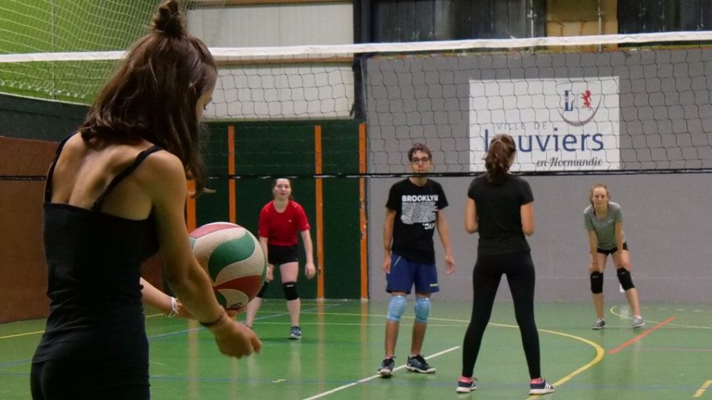 Volley-ball à la Nuit des Sports