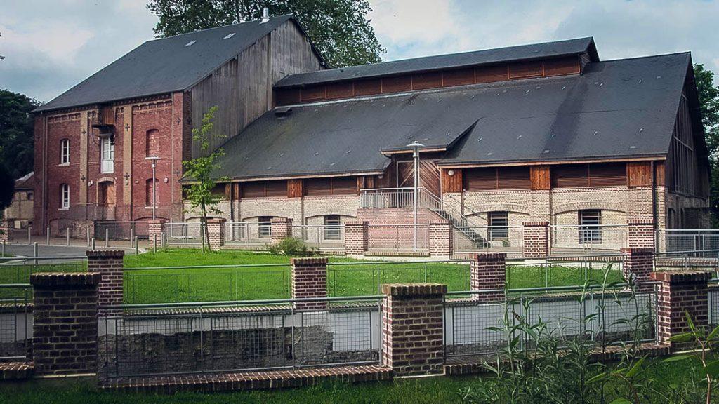 Vue de coté du Moulin