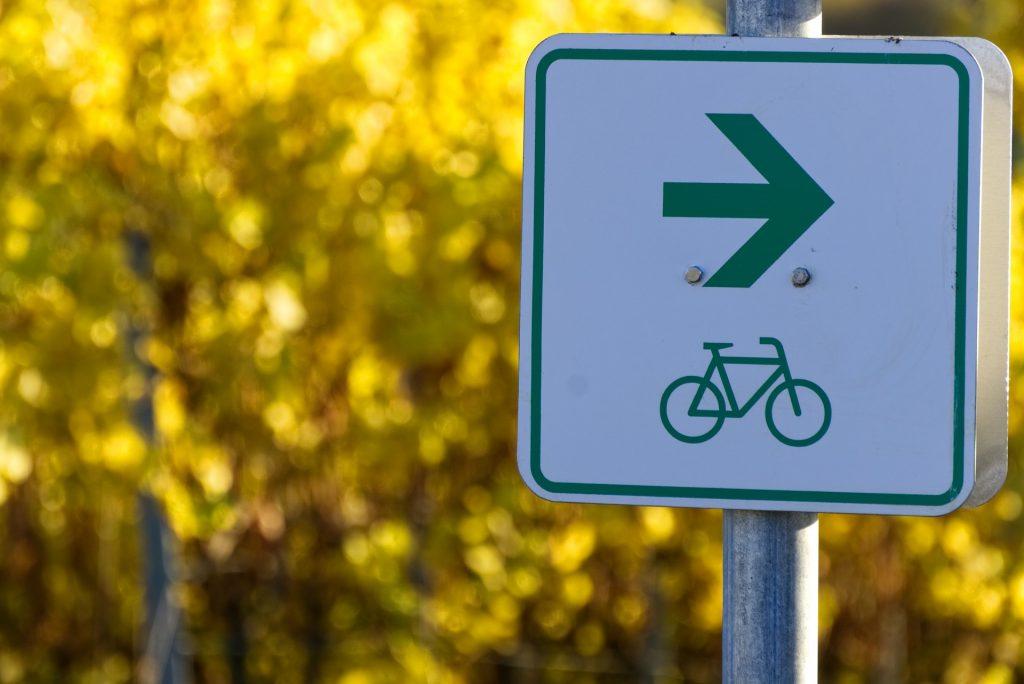 Signalétique piste cyclable