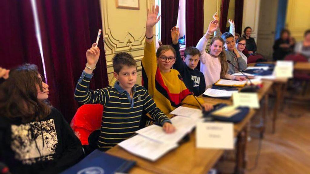 Conseil municipal de jeunes