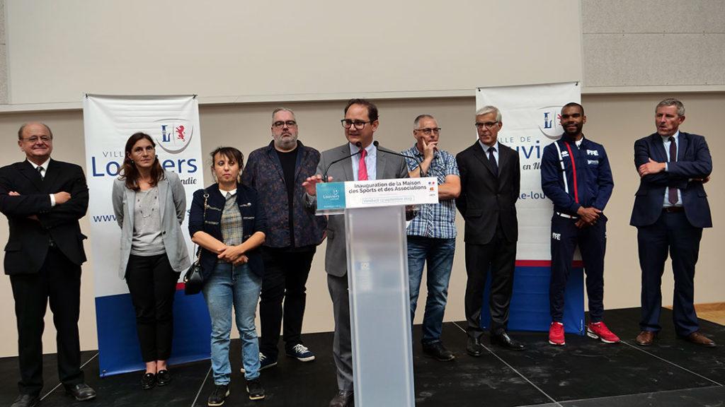 Allocution du Maire de Louviers