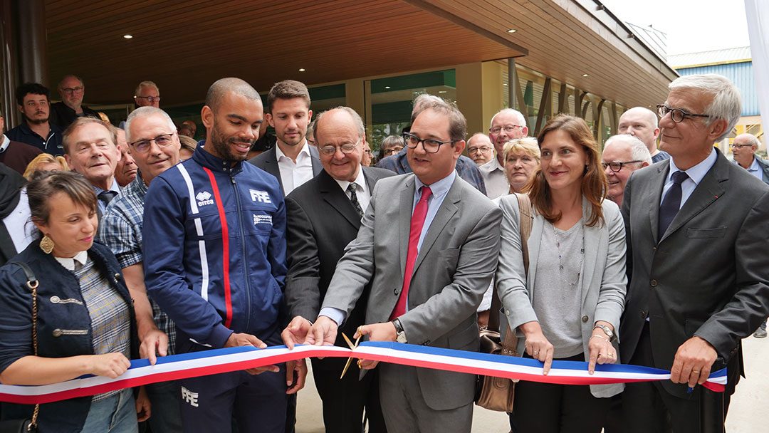 Inauguration de la Maison des Sports et des Associations
