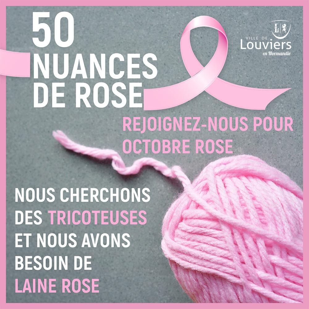 Octobre Rose Louviers