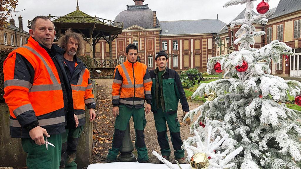 Equipe des Espaces Verts