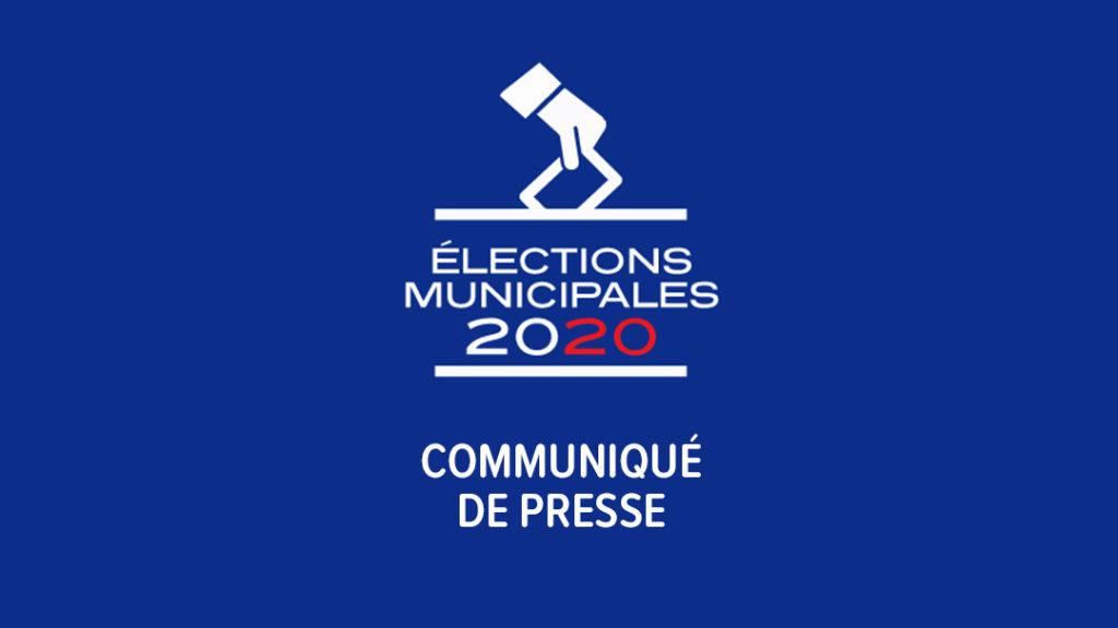Élections Communiqué de presse