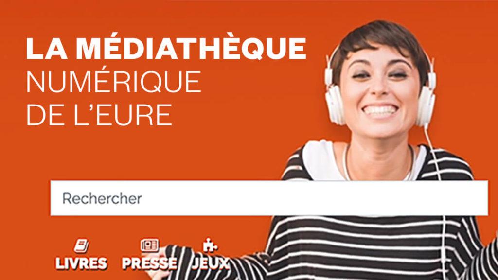 Médiathèque numérique de l'Eure