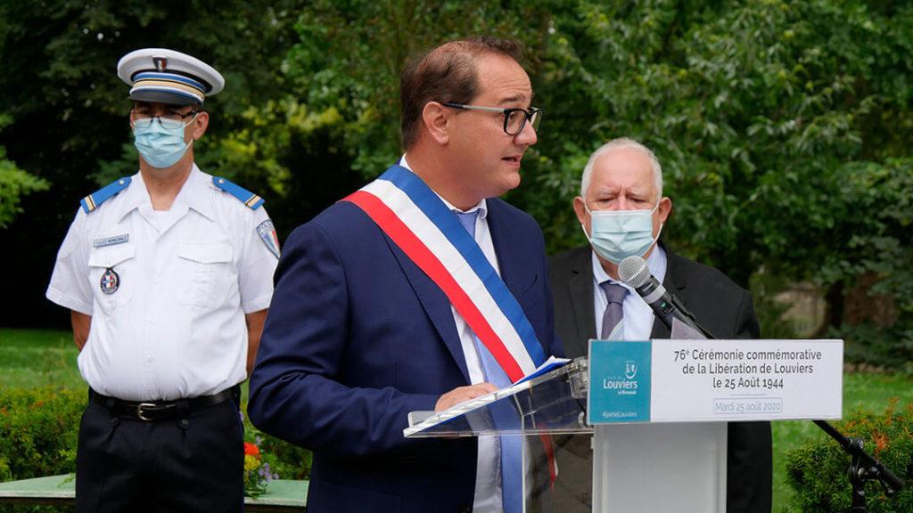 76e anniversaire de la libération de Louviers François-Xavier Priollaud