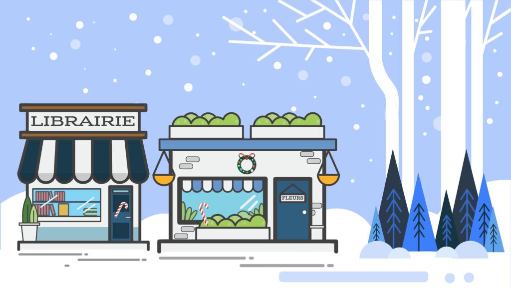 Catalogue des commerces pour Noël