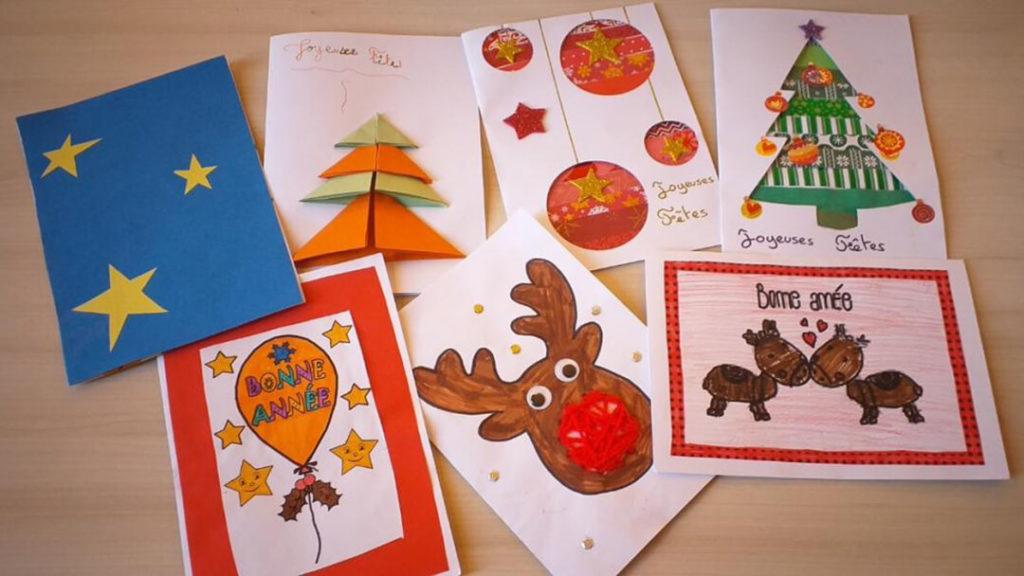 Cartes de vœux enfants