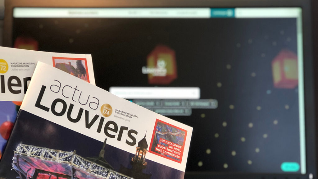 ActuaLouviers et Site Internet