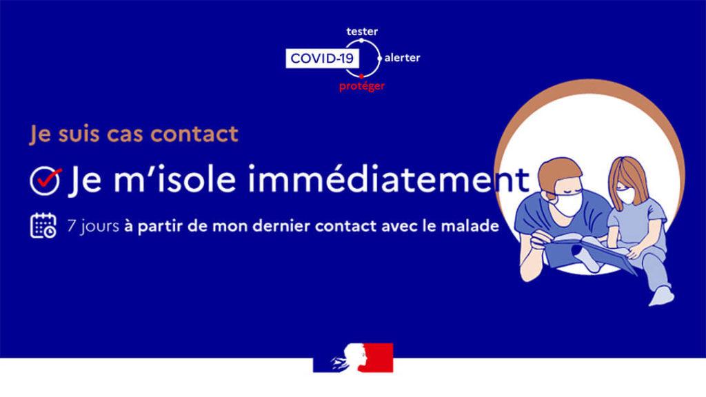 Cas contact COVID19