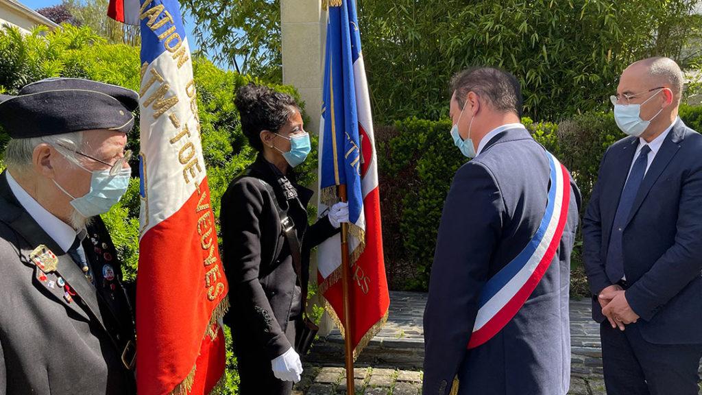 Porte-drapeau