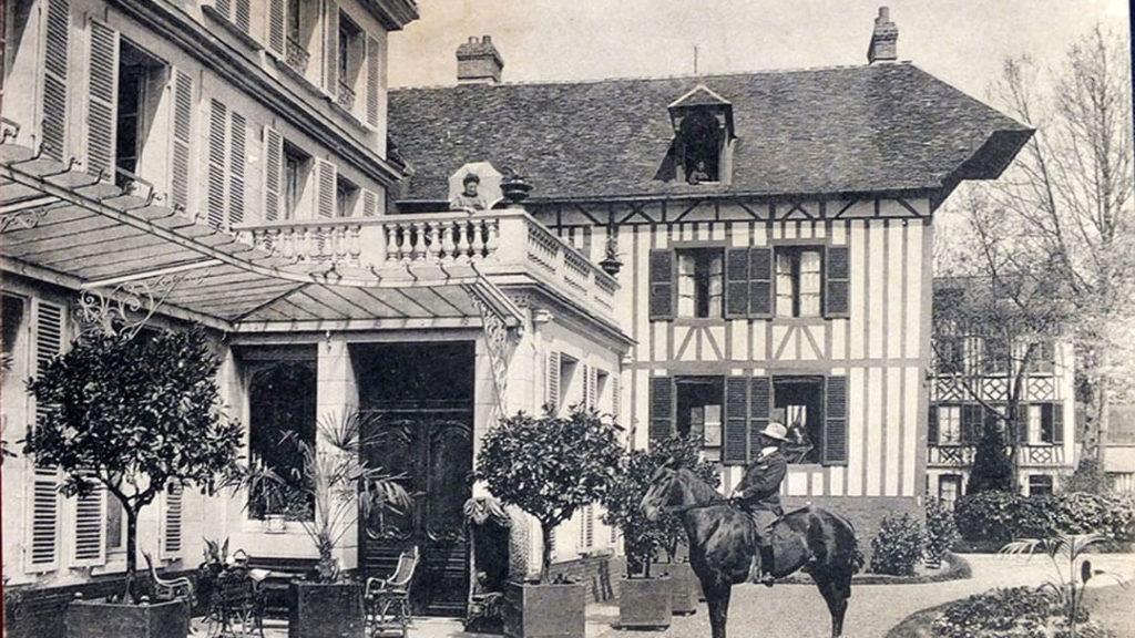 Manoir de Bigard, carte postale La Londe