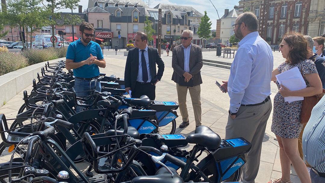 Présentation des vélos à assistance électrique