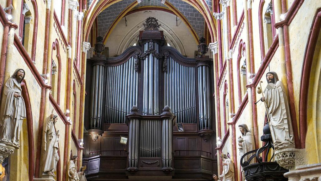 Orgue Maurice Duruflé en l'église Notre-Dame